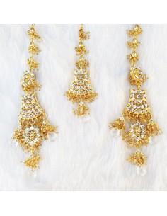 Set bijoux indiens 3 pieces...