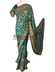 Sari Vert haute gamme