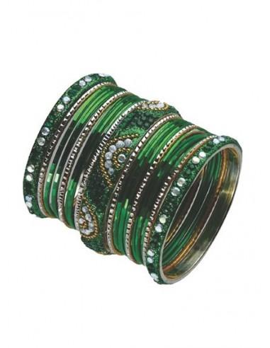 Bracelets indien vert muna