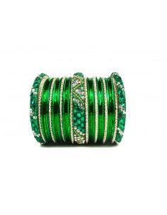 Bangles Perlé Vert