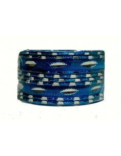 Bangles 12 Piéces bleu Ciel