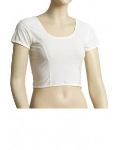 Choli Blouse Sari Blanc