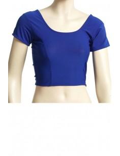 Choli Blouse Sari Bleu