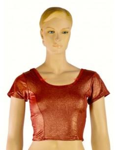 Choli Blouse Sari Rouge