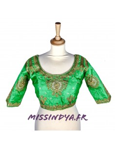 Choli haut blouse sari...