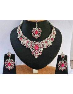 Parure Bijoux Bollywood...