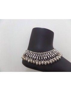 Bijoux pied (PAYAL) Argenté  - 1