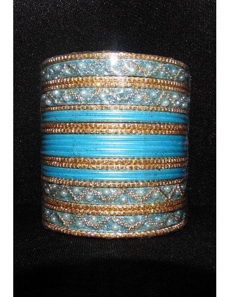 Bracelets Plaqué Or 4 pièces