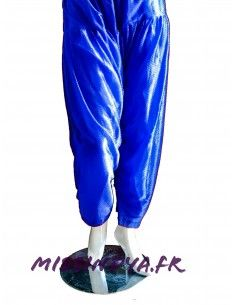 Pantalon salwar indien bleu...