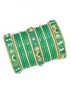 Bracelets enfant vert deepa