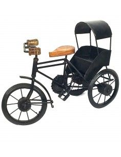 Rickshaw en bois et metal...