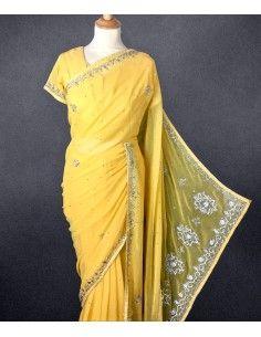 Parure Bijoux indienne Esha Ambre