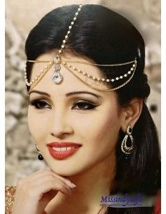 Bijoux tête Mathapati Naina