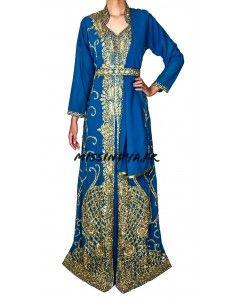 Robe de Soirée style caftan...