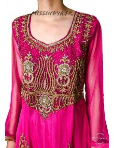 Robe soiree indienne pas cher