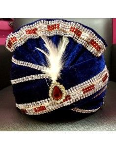 Pagdi Chapeau indien Bleu...