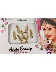 Bindi indien Doré 049  - 1
