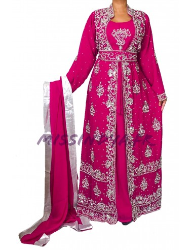 Choli Blouse Sari Rose Fuschia