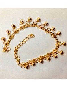 Payal bijoux pied doré 20