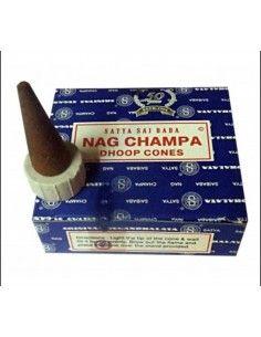 Cône encens Nag Champa bleu