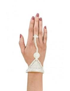 Bijoux de main Argenté