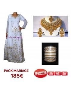 Pack mariage Lehenga choli...