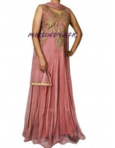 Robe de Soirée Salmaa rose...