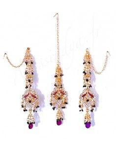 Set Bijoux indiens ethnique...