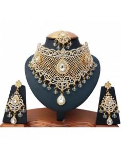 Parure bijoux doré...