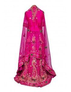 Caftan Robe Dubai Sahaba Bleu et or