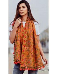 khadi chale foulard pashmina