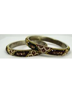 Lot de 2 bracelets perlé 008