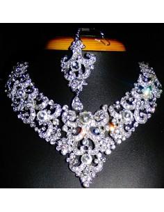 Boite à bijoux Ecrin Parure Collier bijoux