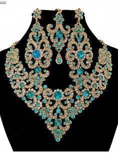 Robe Dubai inaya bleu royal