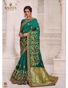 sari-indien-de-couleur-vert-mariage-bollywood