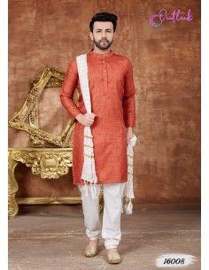 Kurta-tenue-indienne-homme-eid-mariage-brode-sari-homme-bollywood