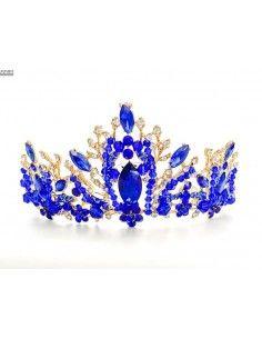 couronne-diadème-tiare-de-couleur-bleu-et-dore