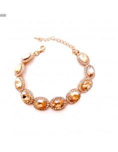 Bracelets strass et pierres doré  - 1