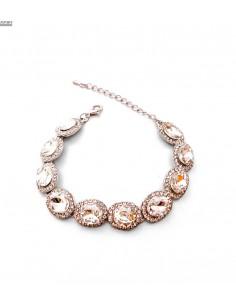 Bracelets strass et pierres argenté  - 2