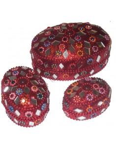 Set Pot à bijoux 3 Pièces...