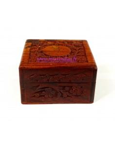 Boite Sculpté en bois