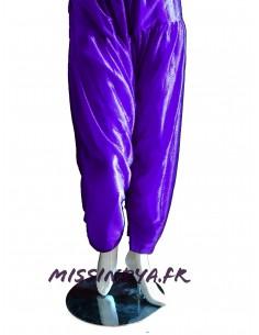 Pantalon salwar indien violet