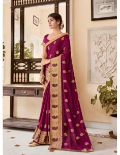 sari-indien-perlé-blanc