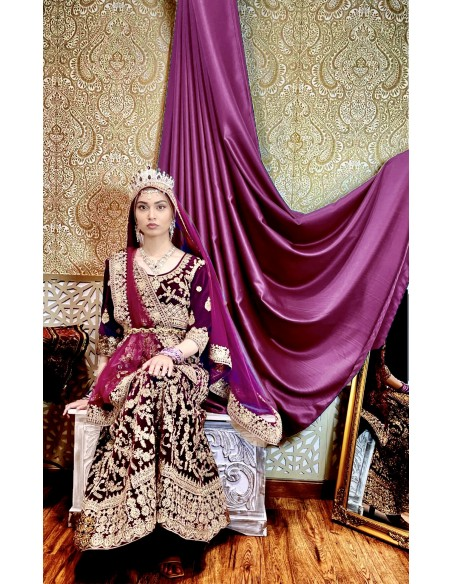 robe-de-soirée-indienne-sari