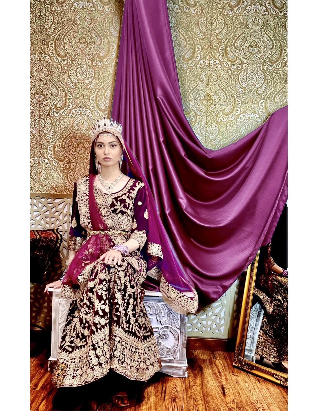 Robe de soiree indienne pas cher