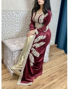 Echarpe indien Pashmina Creme
