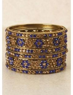 Bangles enfant Bleu royal...