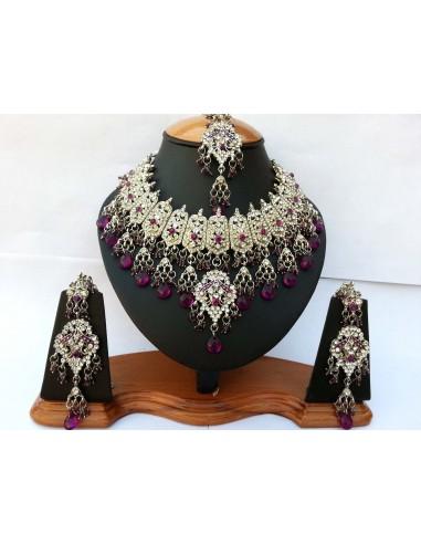 Parure Bollywood Bijoux 4 pièces...