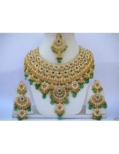 Parure Bollywood Vert &...