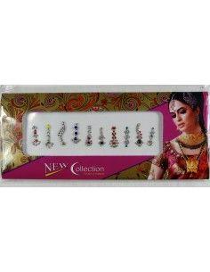 Pack de 10 Bindi Strass perlé